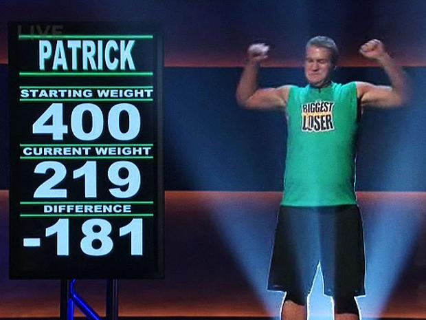 Patrick House, Biggest Loser, 4x3