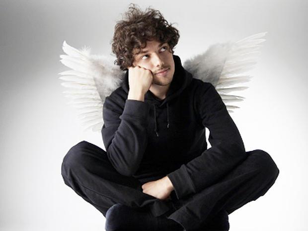 angel, man, wings, question, generic, 4x3
