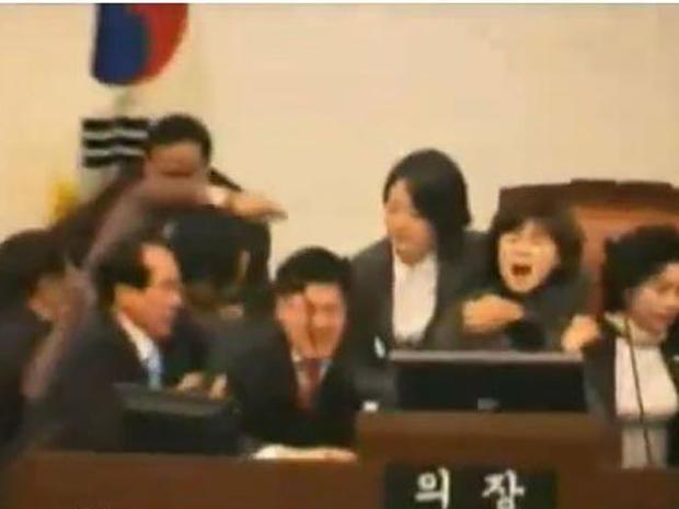 Best Parliamentary Brawls of 2010