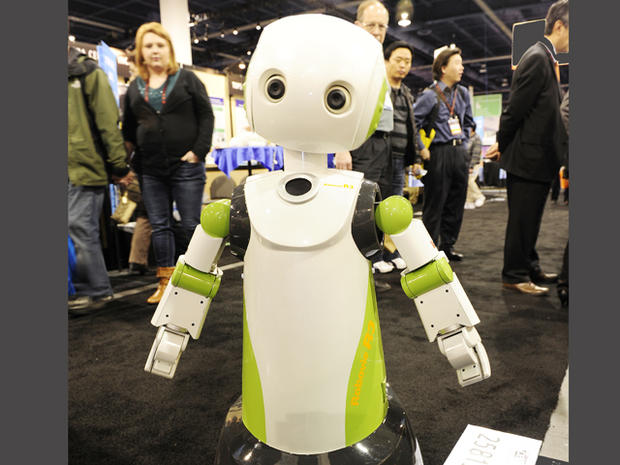 March of the Robots at CES 2011