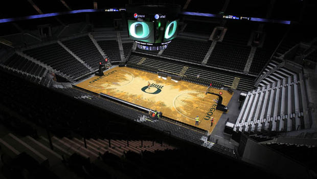 Oregon Basketball Court Under Much Scrutiny, Mixed ...