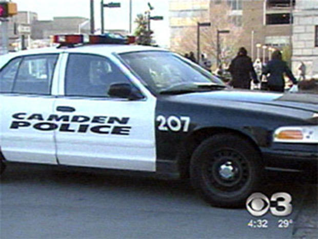 camden police car, squad car, new jersey, file photo