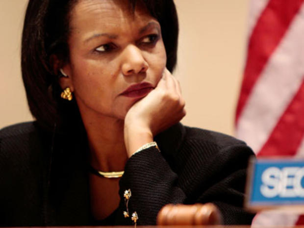Condoleezza Rice at the U.N.