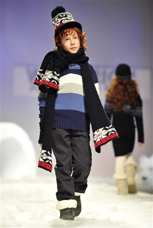 Edgy Kids' Fashions Featured in Italy