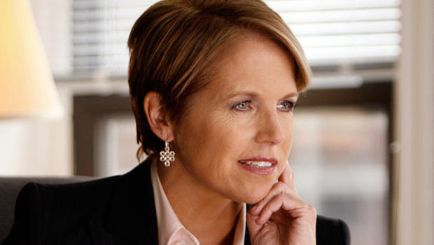 CBS Evening News Anchor Katie Couric