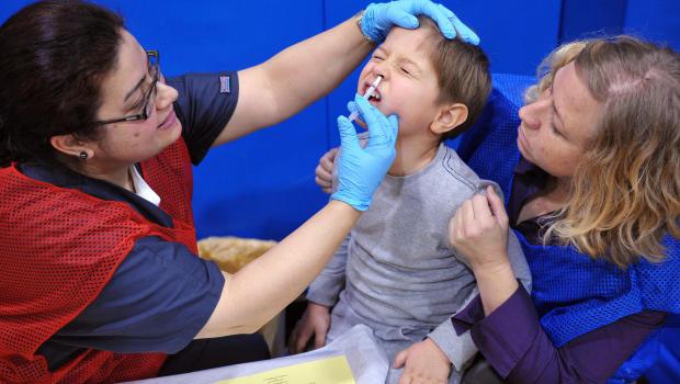 flu vaccine seizures adults