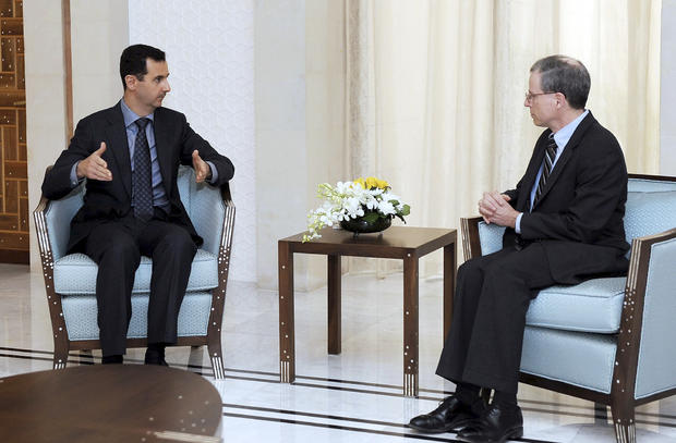 U.S. Ambassador to Syria, Robert Ford