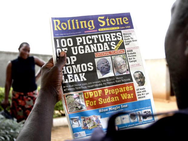 Rolling Stone Uganda anti-gay newspaper