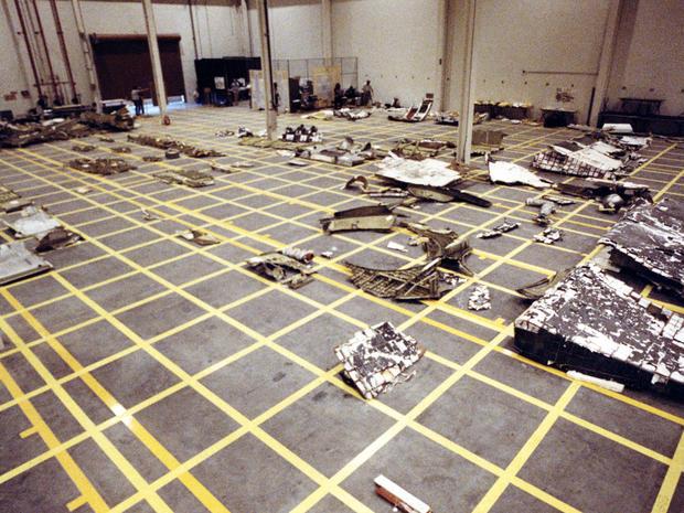 Challenger Debris A Look Back Challenger Shuttle Disaster