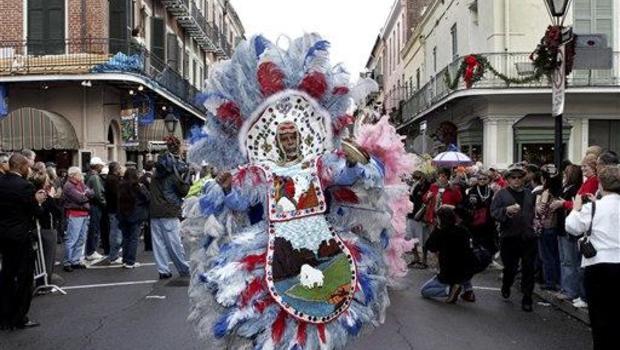 & Mardi Gras Indians Work To Copyright Costumes - CBS News