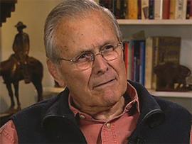 Former Secretary of Defense Donald Rumsfeld