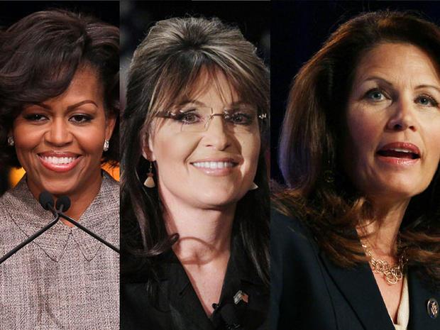 michelle obama, michele bachman, sarah palin, 4x3