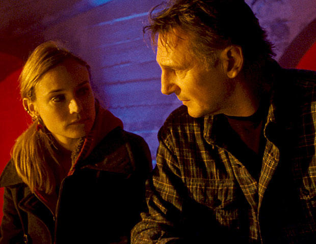 """Diane Kruger, left, and Liam Neeson are shown in a scene from, """"Unknown."""" (AP Photo/Warner Bros. Pictures)"""