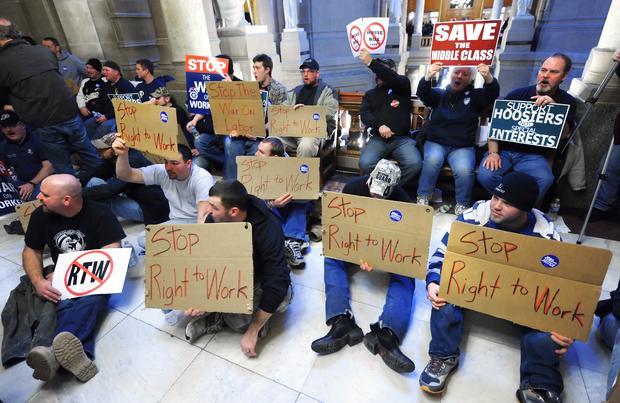 unions, Indiana