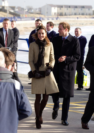 Royal couple's first official outing