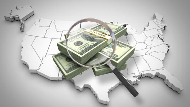 Obama Signs Bill To Head Off Government Shutdown CBS News - Us money map