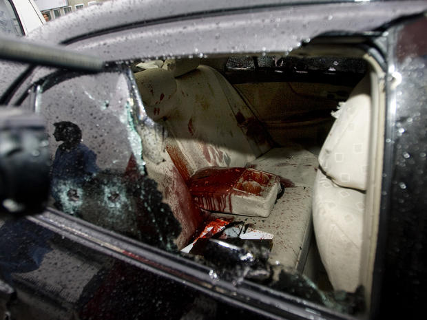 Car in which Shahbaz Bhatti was shot to death
