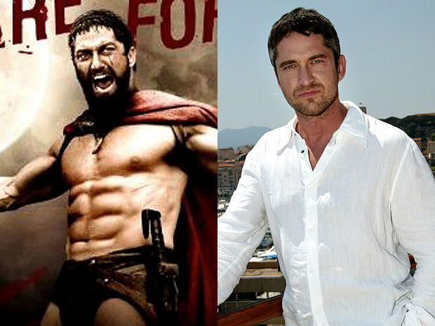 Gerard Butler 10 Extreme Hollywood Body Makeovers Pictures Cbs
