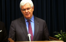 Gingrich launches 2012 exploratory website