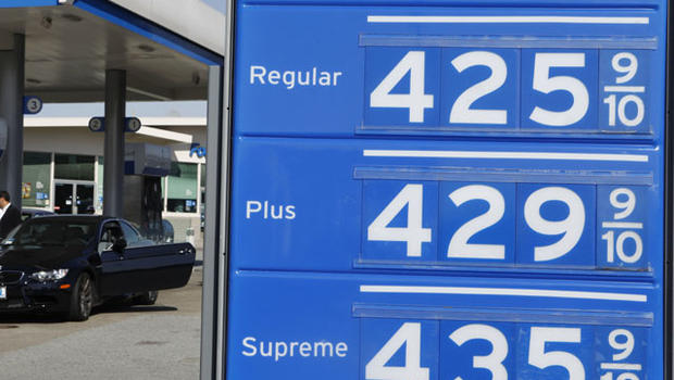 gas prices rising