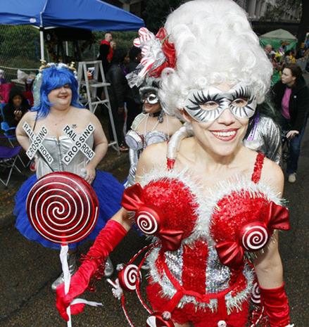 Weird, wacky and wild Mardi Gras