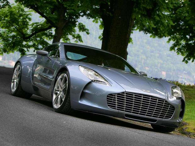 Aston Martin One-77: $1.87 Million - World's 9 most ridiculously ...