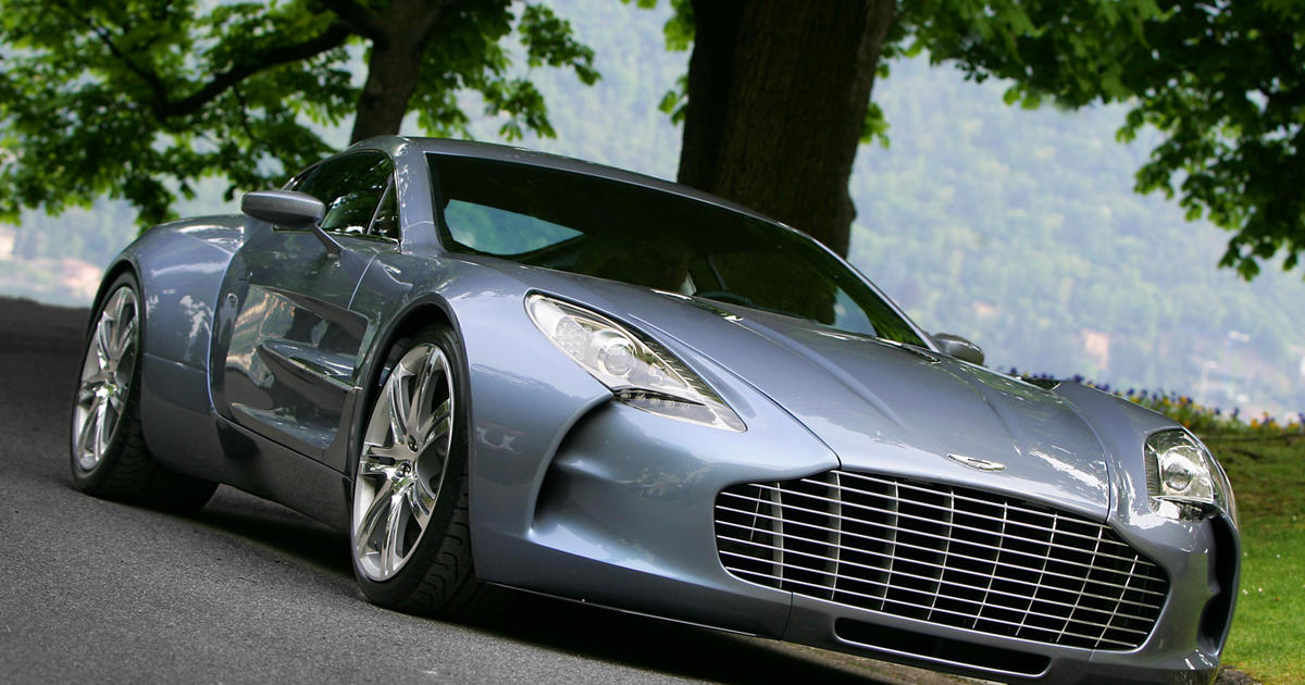 Aston Martin One 77 1 87 Million World S 9 Most Ridiculously Expensive Cars Cbs News