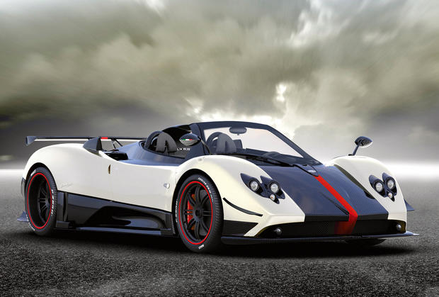 Pagani Zonda Cinque Roadster: $1.8 Million - World's 9 most ...
