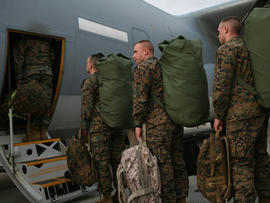 U.S. Marines help Japan quake relief