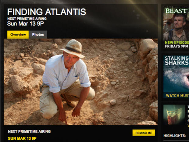 "Richard Freund and his team will unveil their discoveries on ""Finding Atlantis"" on NatGeo channel"
