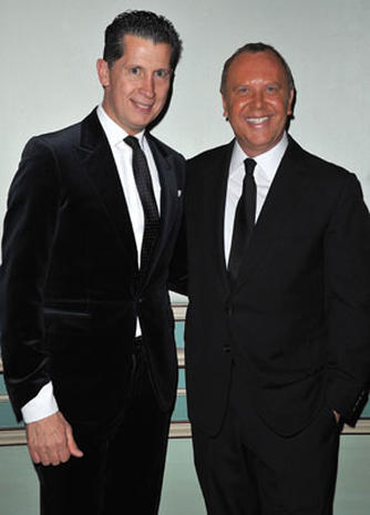 Michael Kors honored in Paris