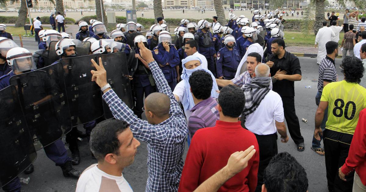 Arab states send troops into Bahrain