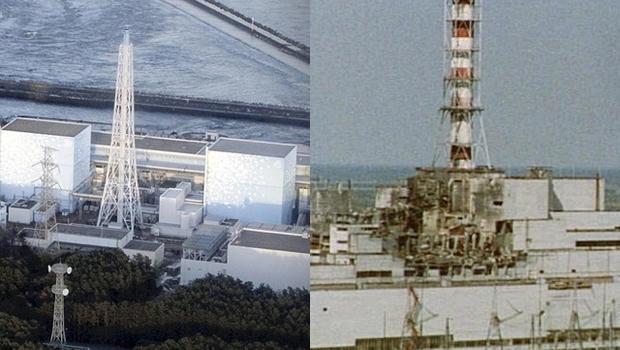 Fukushima reactor and Chernobyl.