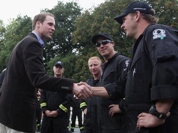 Prince William in New Zealand