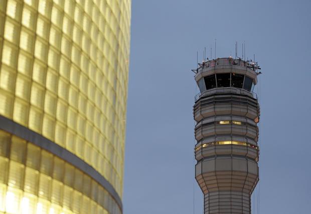 FAA  control tower at Reagan National Airport