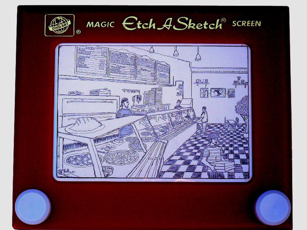 Etch A Sketch art will amaze you
