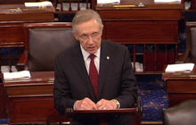 Reid on Boehner - Tea Party screaming in his ear