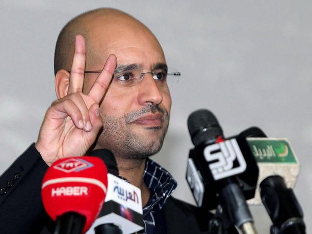 Seif al-Islam el-Qaddafi addresses youth in Tripoli