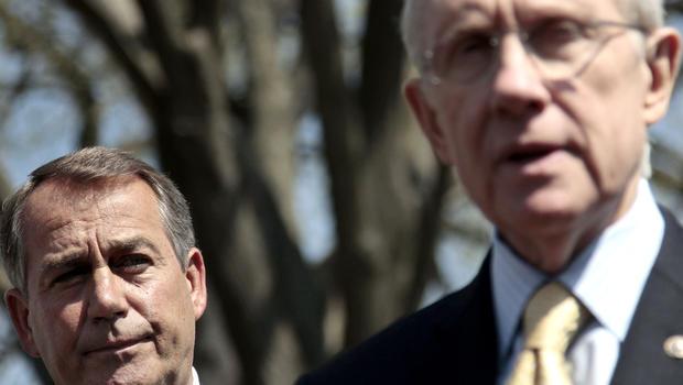 House Speaker John Boehner and Senate Majority Leader Harry Reid