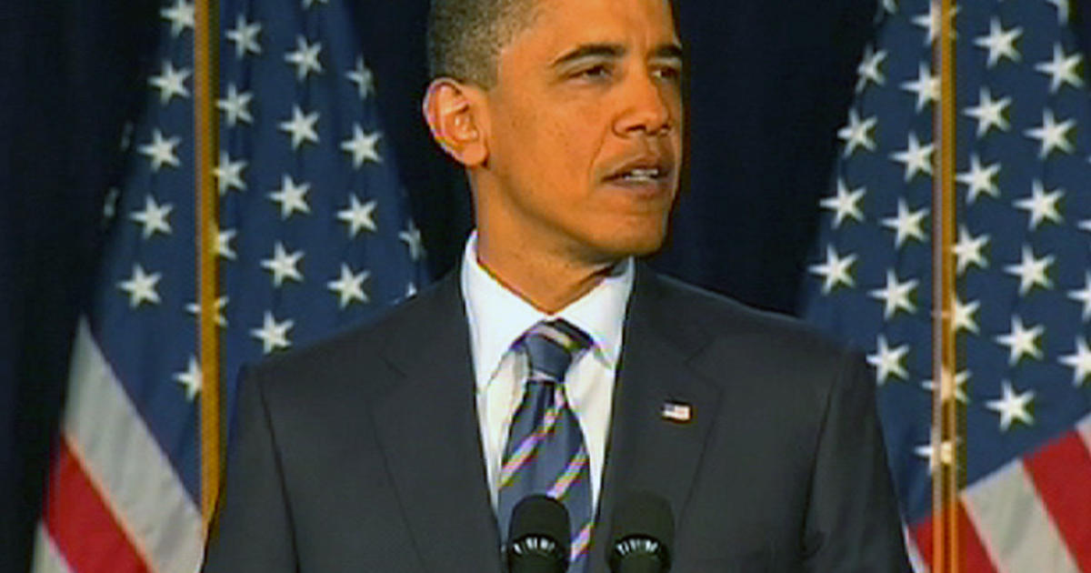 Obamas Deficit >> Obama's goal: Cut deficit by $4T over 12 years - CBS News