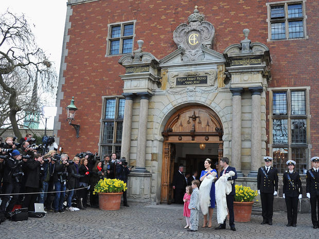 Denmark's royal twins baptized