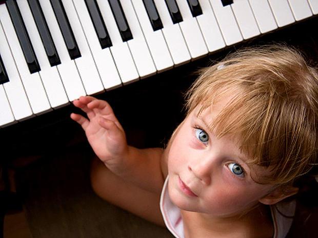 piano, music, child, stock, 4x3
