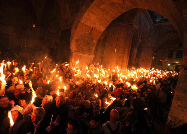 Easter rites around the world