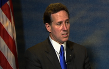 "Santorum ""befuddled"" Obama birth certificate not released earlier"