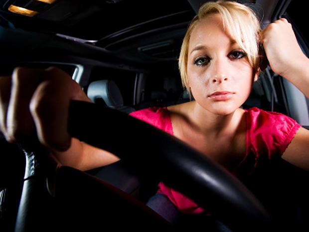 car, steering wheel, driving, woman, stock, 4x3