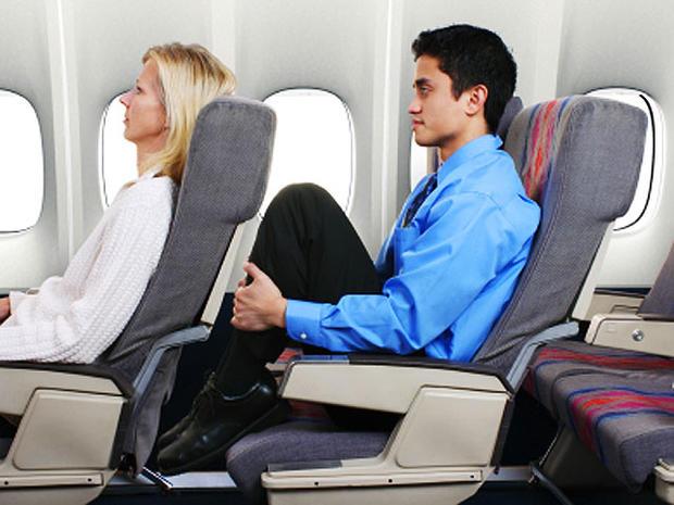 man, tall, passenger, airline, cramped, stock, 4x3