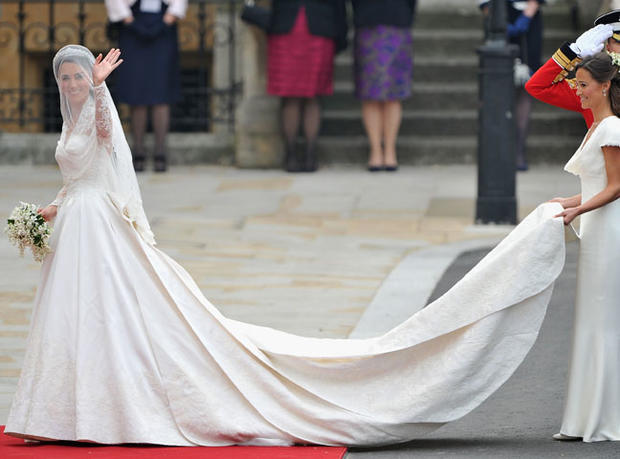 Royal wedding gowns photo 1 pictures cbs news junglespirit Image collections