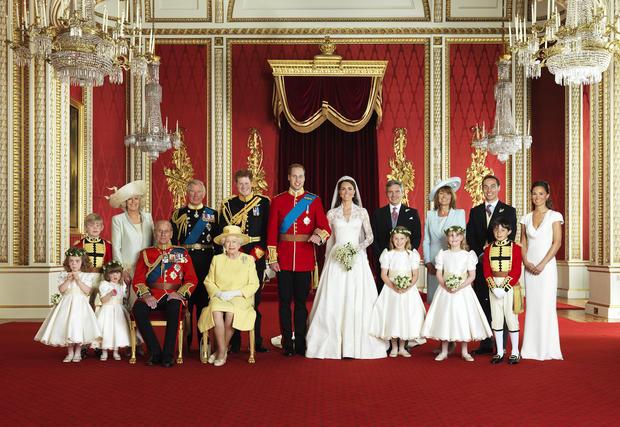 Official royal wedding photos