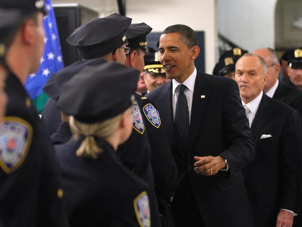 President Obama at ground zero