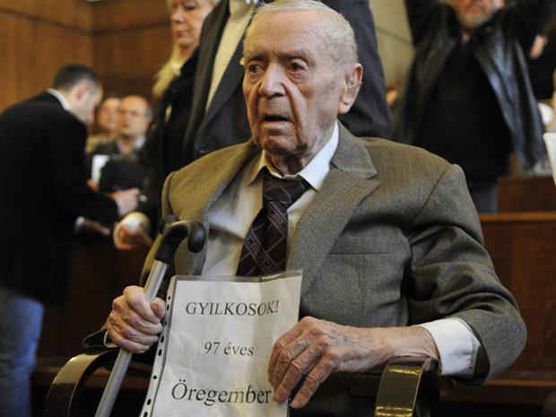 97-year-old Hungarian Sandor Kepiro charged with Nazi war crimes